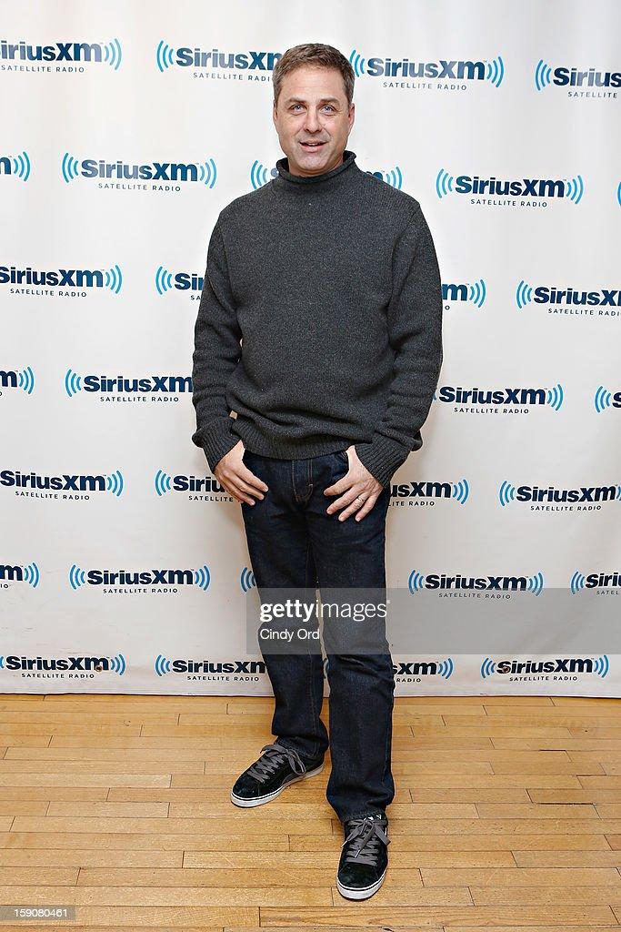 TV host Mark L. Walberg visits the SiriusXM Studios on January 7, 2013 in New York City.