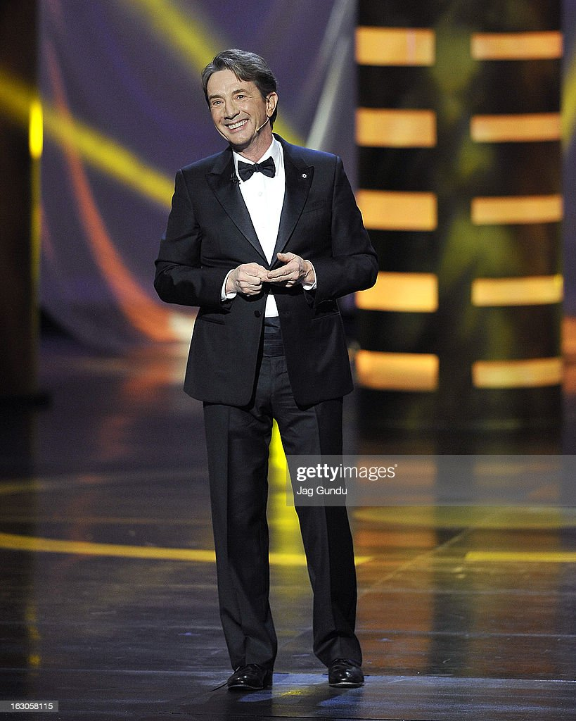 Host <a gi-track='captionPersonalityLinkClicked' href=/galleries/search?phrase=Martin+Short&family=editorial&specificpeople=211569 ng-click='$event.stopPropagation()'>Martin Short</a> onstage at the 2013 Canadian Screen Awards at Sony Centre for the Performing Arts on March 3, 2013 in Toronto, Canada.