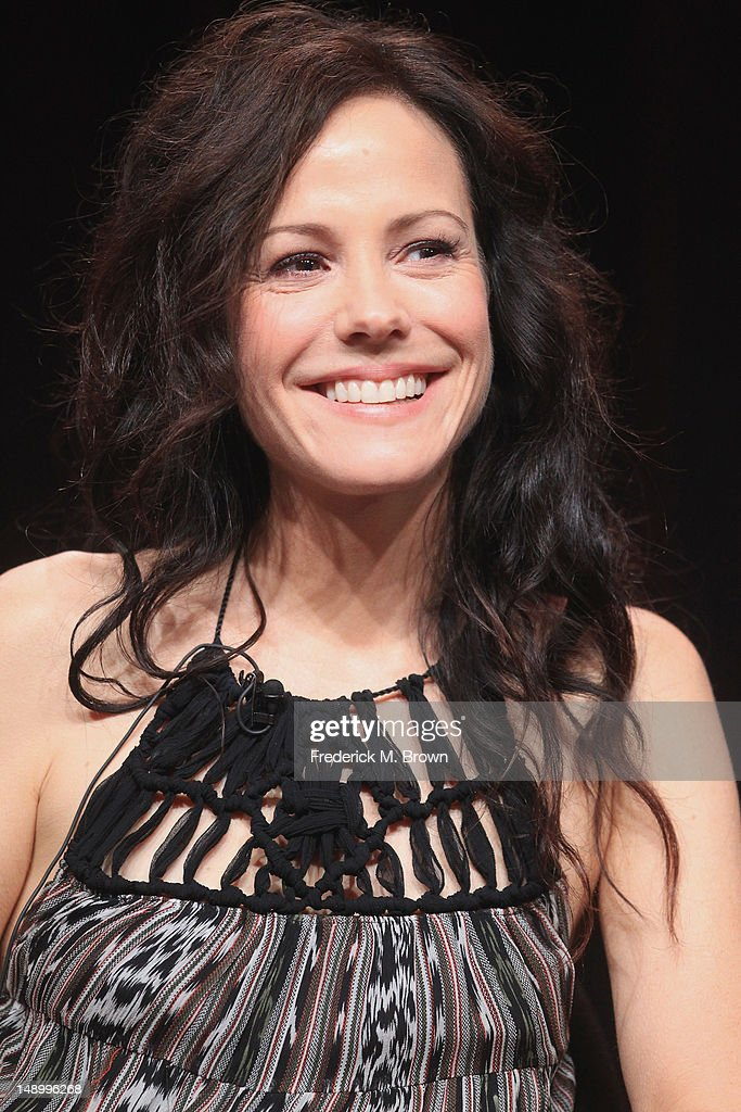 Host Mary-Louise Parker speaks onstage at the Independent Lens 'Soul Food Junkies' panel during day 1 of the PBS portion of the 2012 Summer TCA Tour held at the Beverly Hilton Hotel on July 21, 2012 in Beverly Hills, California.
