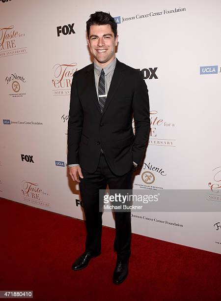 Host Max Greenfield attends the 20th Anniversary Taste for a Cure fundraiser benefitting UCLA's Jonsson Comprehensive Cancer Center at the Beverly...