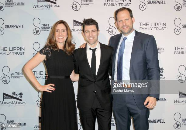 Host Max Greenfield Honoree Carolyn Bernstein the Executive VP Head of Global Scripted Development and Production National Geographic and Honoree...