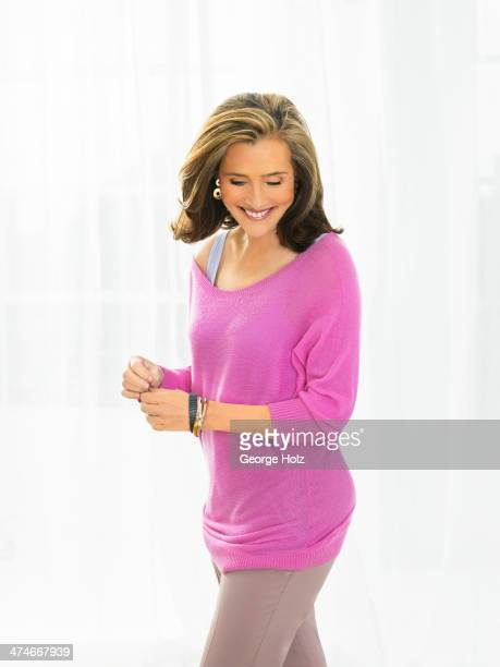 TV host Meredith Vieira is photographed for Good Housekeeping Magazine on May 21 2012 in New York City PUBLISHED IMAGE