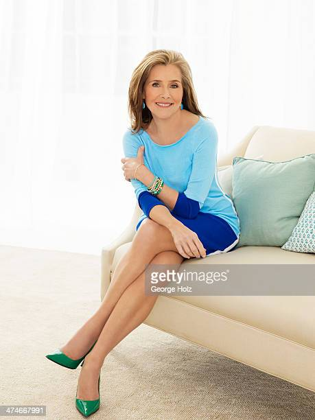 TV host Meredith Vieira is photographed for Good Housekeeping Magazine on May 21 2012 in New York City