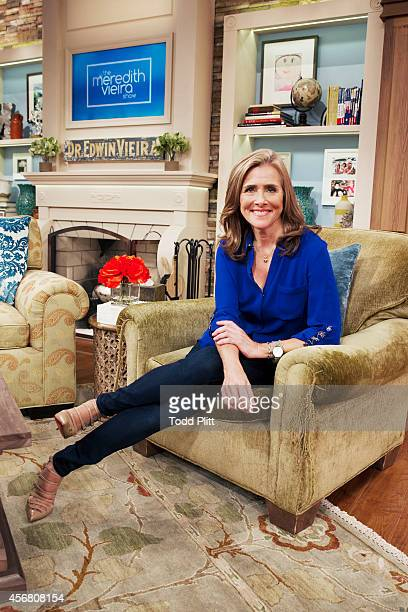TV host Meredith Vieira is photographed for USA Today on September 3 2014 in New York City