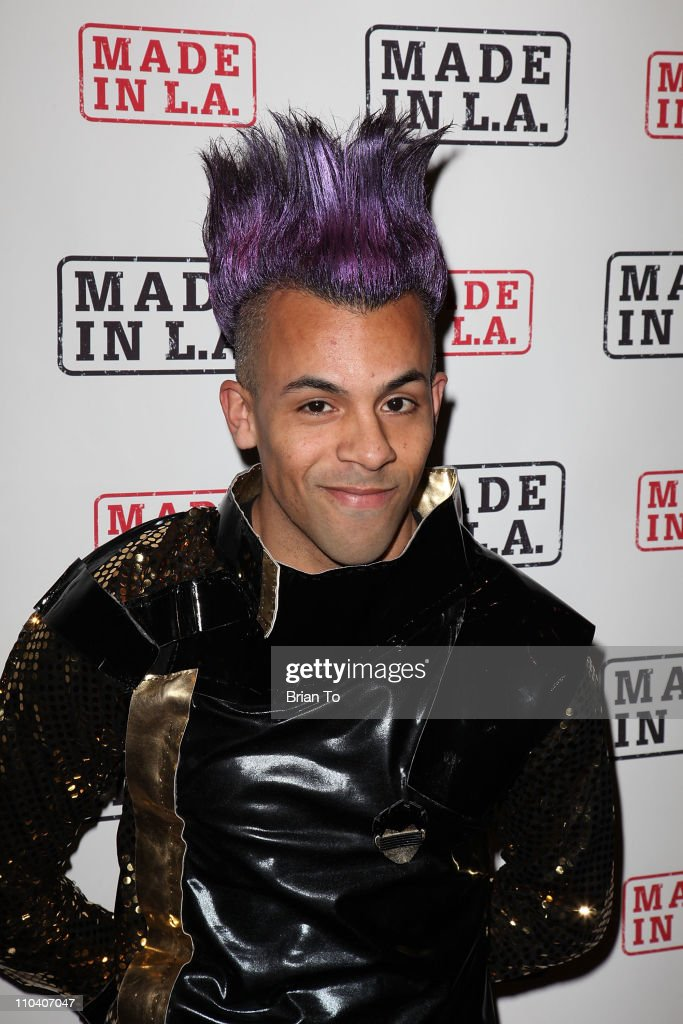 Host Michael Benz poses at Made in LA presents 'Bebe: The After Party' for Los Angeles fashion week spring 2011 at SupperClub Los Angeles on March 17, 2011 in Los Angeles, California.