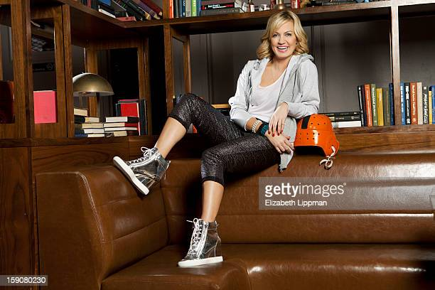 Host Michelle Beadle is photographed for New York Post on November 11 2012 in New York City PUBLISHED IMAGE