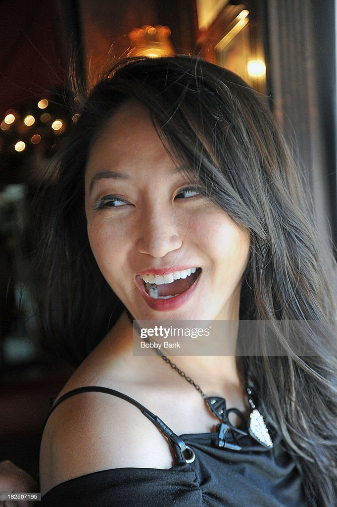TV host <b>Michelle Park</b> attends the Famous Foodies Show with Frank Pellegrino ... - host-michelle-park-attends-the-famous-foodies-show-with-frank-at-picture-id182567195
