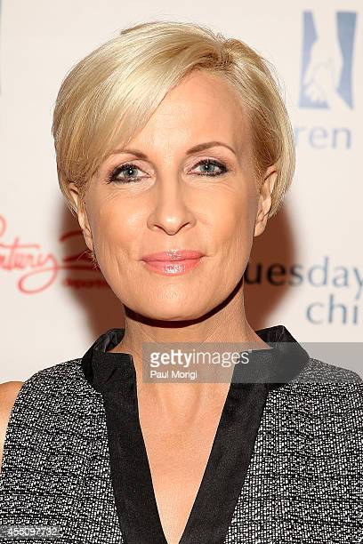 TV host Mika Brzezinski attends Tuesday's Children Roots of Resilience Gala at Conrad Hotel in New York on September 9 2014 in New York City