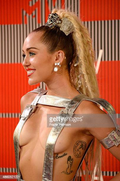 Host Miley Cyrus attends the 2015 MTV Video Music Awards at Microsoft Theater on August 30 2015 in Los Angeles California