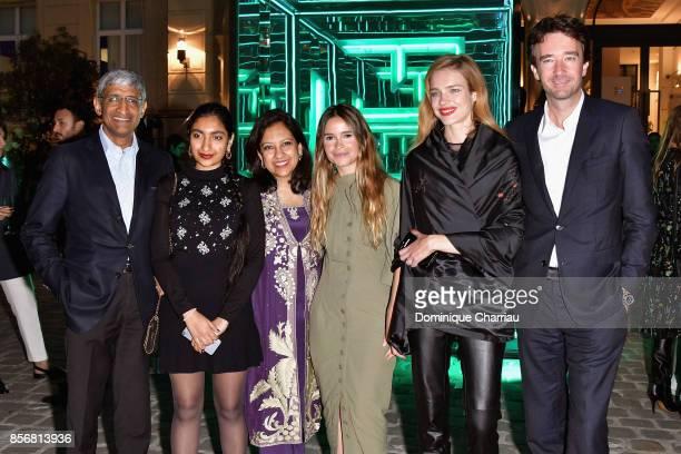 Host Miroslava Duma Natalia Vodianova and Antoine Arnault attend the Fashion Tech Lab Launch Event Hosted By Miroslova Duma And Stella McCartney as...