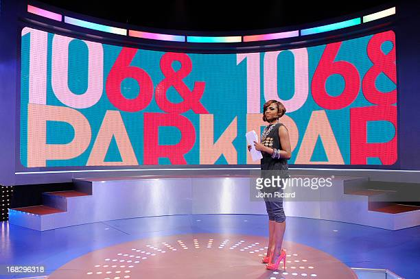 Host Miss Mykie at BET's '106 Park' at BET Studios on May 6 2013 in New York City