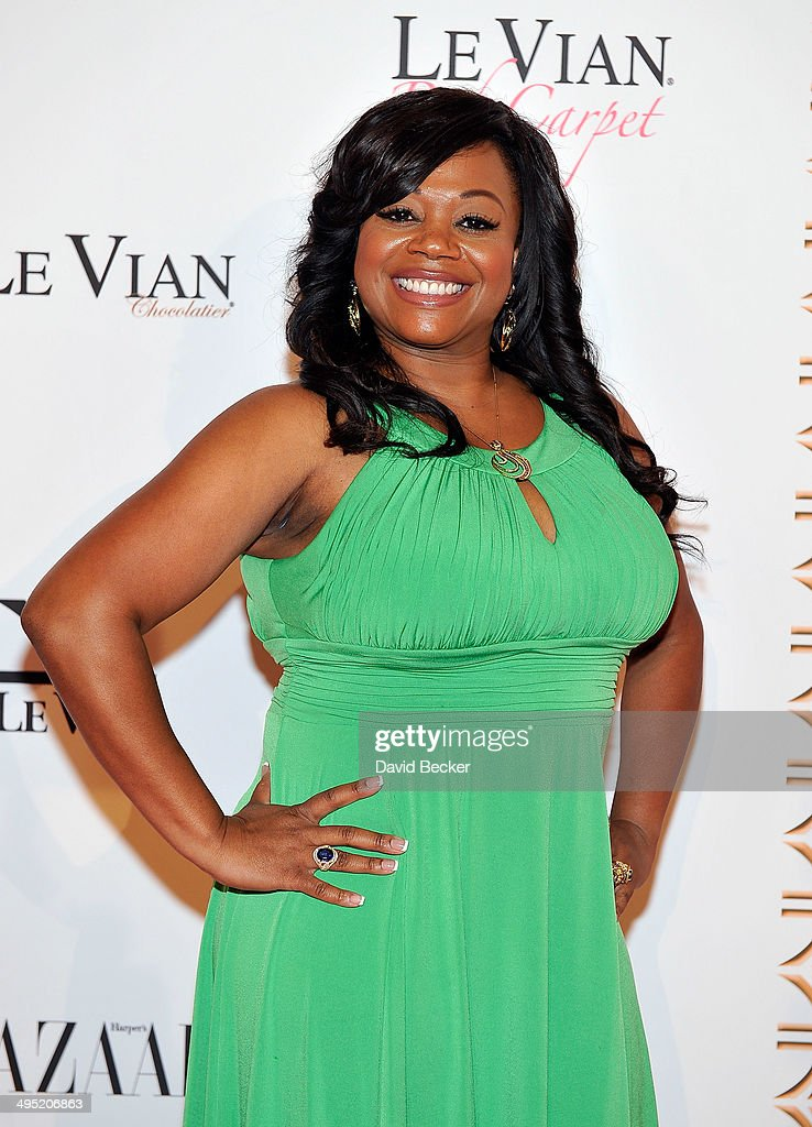 Host Monica Jackson arrives at the 2015 Le Vian Red Carpet Revue at the Mandalay Bay Convention Center on June 1, 2014 in Las Vegas, Nevada.