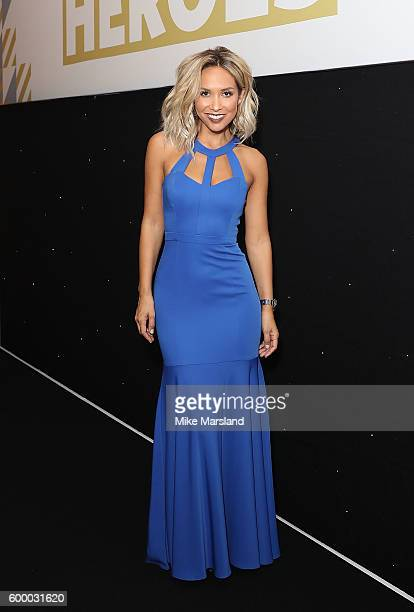 Host Myleene Klass at the St John Ambulance's Everyday Heroes awards a starstudded celebration of the nation's life savers at the Grange St Paul's...