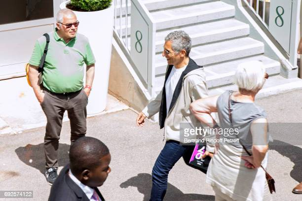 TV host Nagui attends the 2017 French Tennis Open Day Height at Roland Garros on June 4 2017 in Paris France