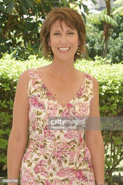 TV host Natalie Barr attends the Channel Seven Program Launch at Vaucluse House on February 13 2006 in Sydney Australia