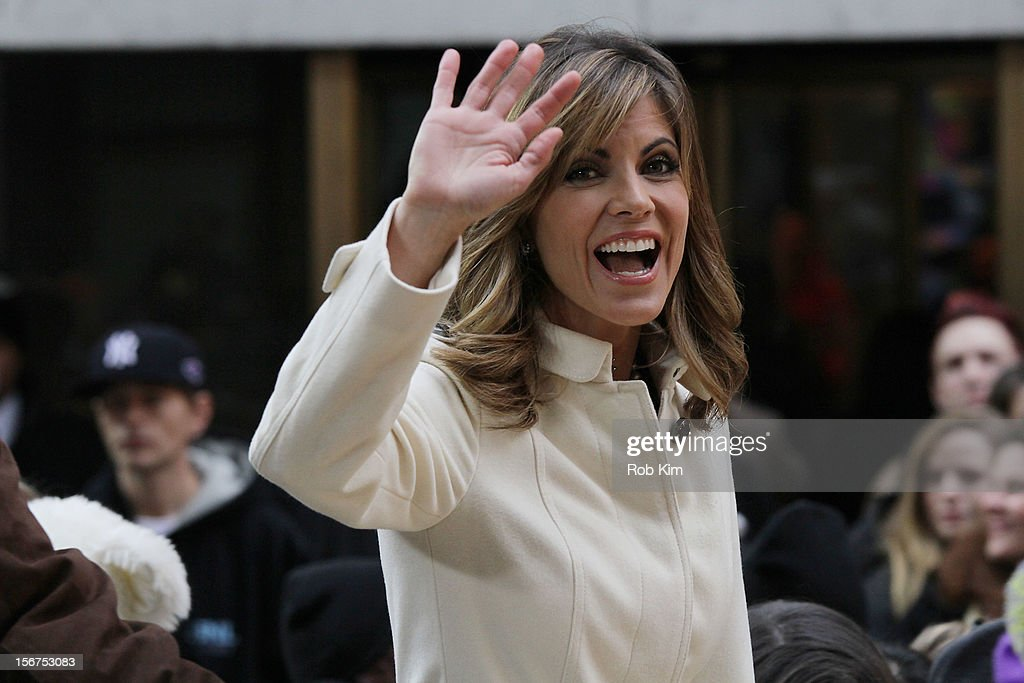 Host Natalie Morales appears on NBC's 'Today' at Rockefeller Plaza on November 20, 2012 in New York City.