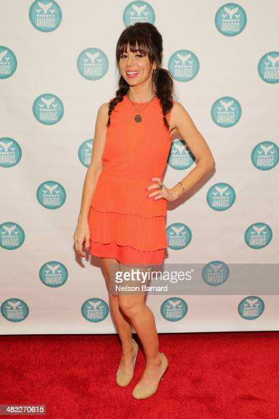 Host Natasha Leggero attends the 6th Annual Shorty Awards on April 7 2014 in New York City