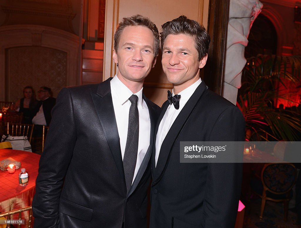 Host <a gi-track='captionPersonalityLinkClicked' href=/galleries/search?phrase=Neil+Patrick+Harris&family=editorial&specificpeople=210509 ng-click='$event.stopPropagation()'>Neil Patrick Harris</a> and <a gi-track='captionPersonalityLinkClicked' href=/galleries/search?phrase=David+Burtka&family=editorial&specificpeople=572242 ng-click='$event.stopPropagation()'>David Burtka</a> attend the 66th Annual Tony Awards after party at The Plaza Hotel on June 10, 2012 in New York City.