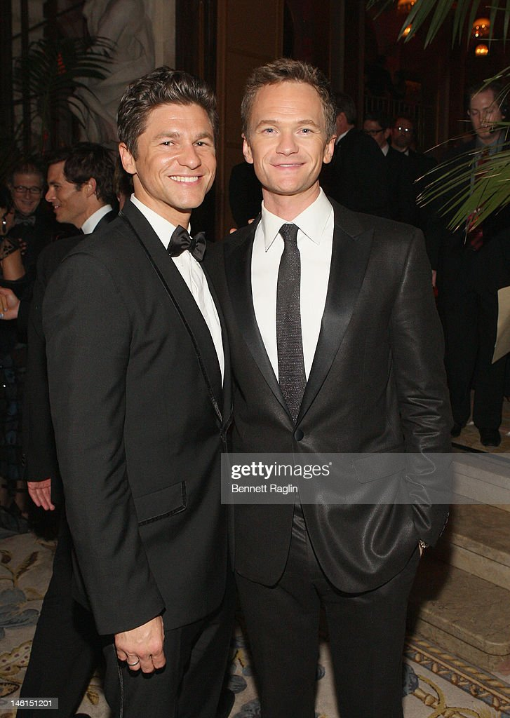 Host <a gi-track='captionPersonalityLinkClicked' href=/galleries/search?phrase=Neil+Patrick+Harris&family=editorial&specificpeople=210509 ng-click='$event.stopPropagation()'>Neil Patrick Harris</a> (R) and <a gi-track='captionPersonalityLinkClicked' href=/galleries/search?phrase=David+Burtka&family=editorial&specificpeople=572242 ng-click='$event.stopPropagation()'>David Burtka</a> attend the 66th Annual Tony Awards after party at The Plaza Hotel on June 10, 2012 in New York City.