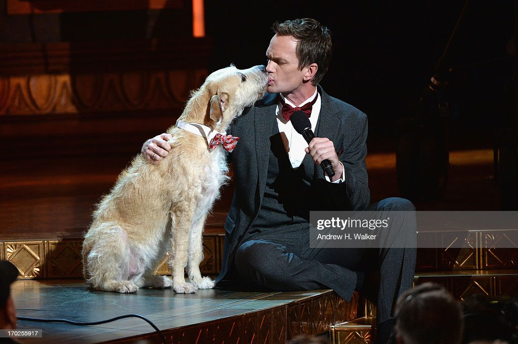 Host <a gi-track='captionPersonalityLinkClicked' href=/galleries/search?phrase=Neil+Patrick+Harris&family=editorial&specificpeople=210509 ng-click='$event.stopPropagation()'>Neil Patrick Harris</a> performs onstage at The 67th Annual Tony Awards at Radio City Music Hall on June 9, 2013 in New York City.