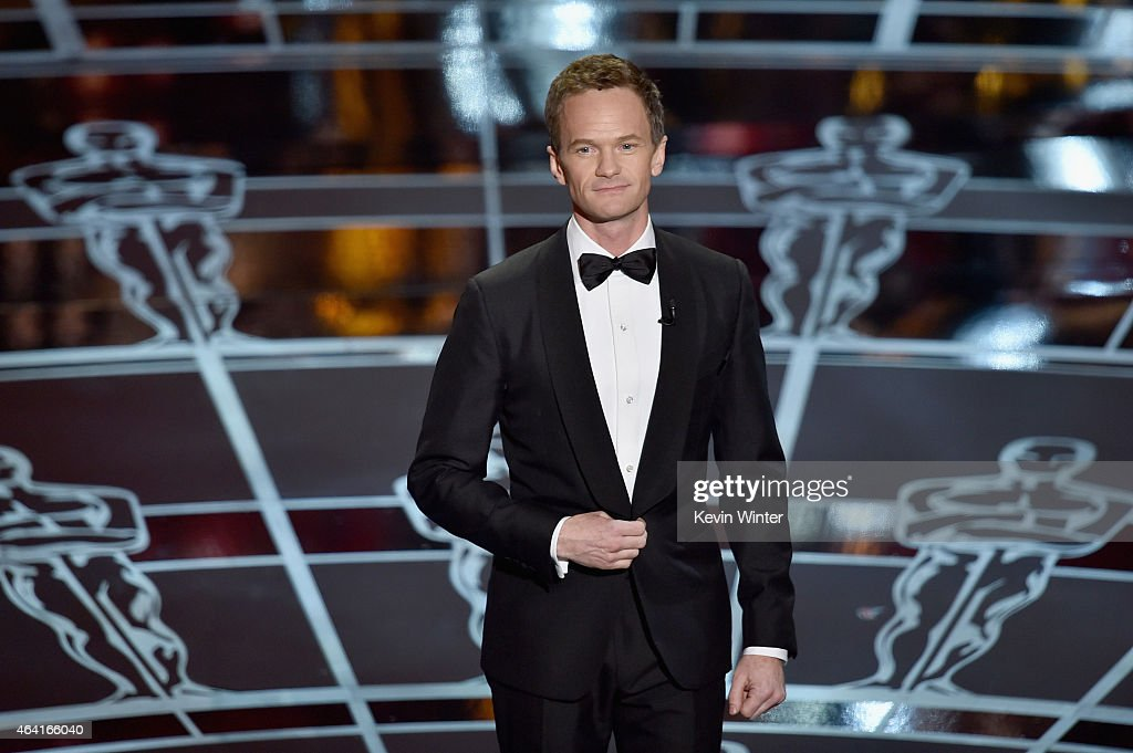 Host <a gi-track='captionPersonalityLinkClicked' href=/galleries/search?phrase=Neil+Patrick+Harris&family=editorial&specificpeople=210509 ng-click='$event.stopPropagation()'>Neil Patrick Harris</a> speaks onstage during the 87th Annual Academy Awards at Dolby Theatre on February 22, 2015 in Hollywood, California.