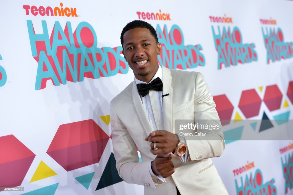 Host <a gi-track='captionPersonalityLinkClicked' href=/galleries/search?phrase=Nick+Cannon&family=editorial&specificpeople=202208 ng-click='$event.stopPropagation()'>Nick Cannon</a> arrives at the 5th Annual TeenNick HALO Awards at Hollywood Palladium on November 17, 2013 in Hollywood, California.
