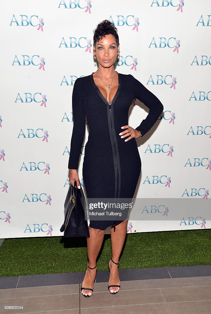 TV host Nicole Murphy attend the Associates For Breast and Prostate Cancer Studies' annual Mother's Day Luncheon at Four Seasons Hotel Los Angeles at Beverly Hills on May 4, 2016 in Los Angeles, California.