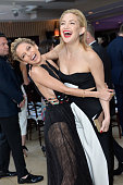 Host Nicole Richie and actress Kate Hudson attend The Daily Front Row 'Fashion Los Angeles Awards' 2016 at Sunset Tower Hotel on March 20 2016 in...