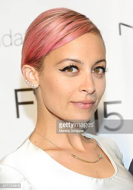 Host Nicole Richie attends 2015 FIT Future Of Fashion Runway Show at The Fashion Institute of Technology on April 30 2015 in New York City