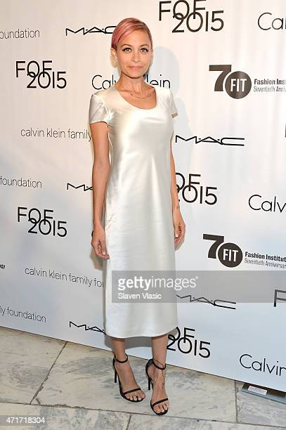 Host Nicole Richie attends The Fashion Institute Of Technology's Future Of Fashion Runway Show at The Fashion Institute of Technology on April 30...