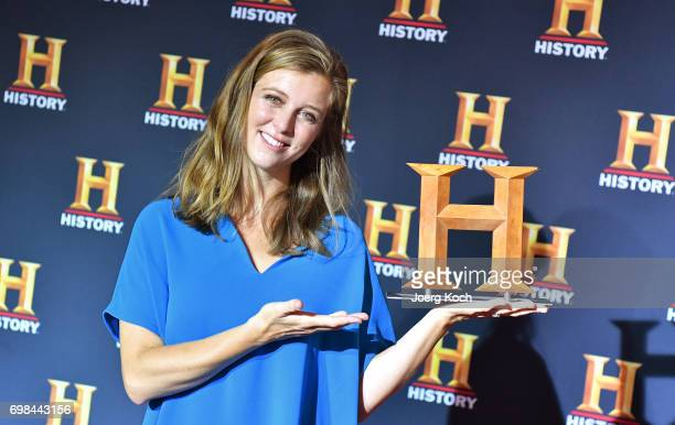 Host Nina Eichinger attends the HISTORY Award 2017 ceremony by TV channel HISTORY at Deutsches Museum on June 20 2017 in Munich Germany