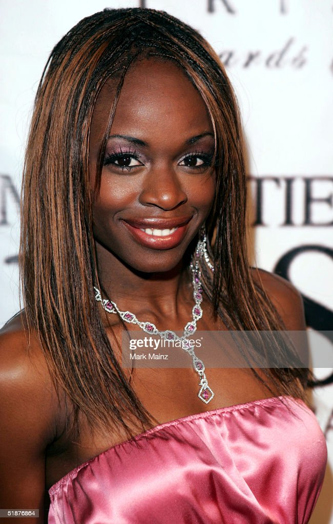 Host Nzinga Blake attends the '9th Annual Multicultural Prism Awards' at The Henry Fonda Music Box on December 17, 2004 in Hollywood, California.
