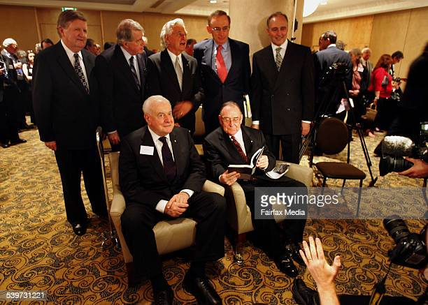 A host of high profile labour party politicians join together to launch form speech writer Graham Freudenberg's book 3 November 2005 AFR Picture by...