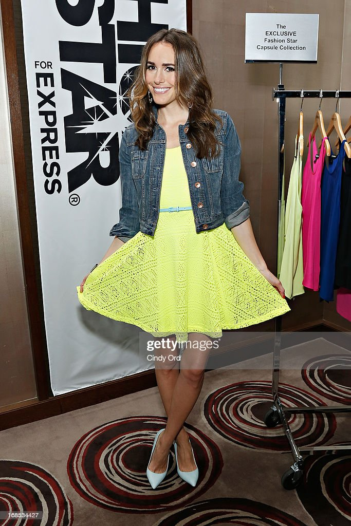 Host of NBC's 'Fashion Star' <a gi-track='captionPersonalityLinkClicked' href=/galleries/search?phrase=Louise+Roe&family=editorial&specificpeople=4300958 ng-click='$event.stopPropagation()'>Louise Roe</a> attends as Express hosts a breakfast to honor the winner of NBC's 'Fashion Star' on May 10, 2013 in New York City.
