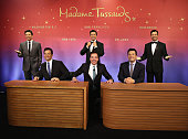 Host of NBC's 'The Tonight Show' Jimmy Fallon joins Madame Tussauds to debut five unique brand new never before seen wax figures of the television...