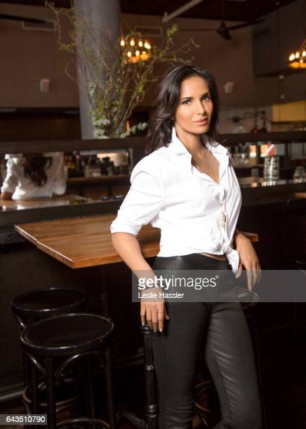 TV host Padma Lakshmi is photographed for New York Moves on March 25 2016 in New York City