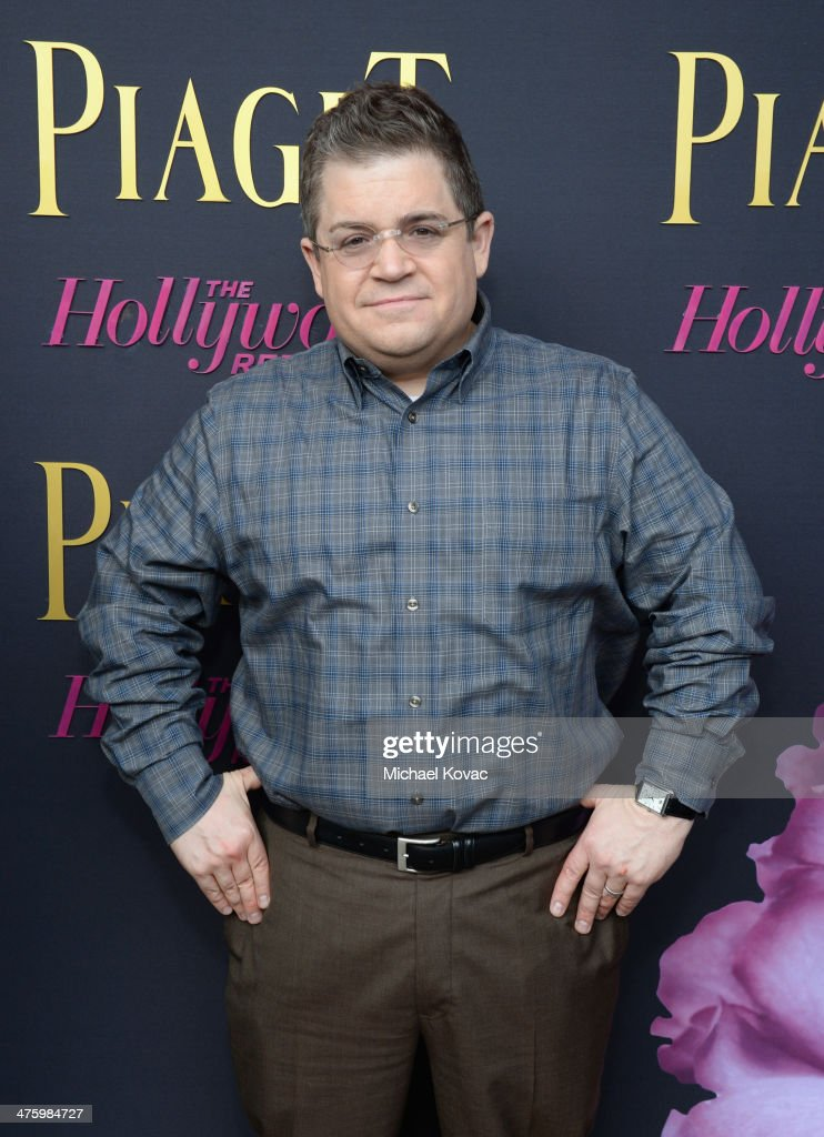 Host Patton Oswalt, wearing Piaget, poses in the Piaget Lounge during the 2014 Film Independent Spirit Awards at Santa Monica Beach on March 1, 2014 in Santa Monica, California.