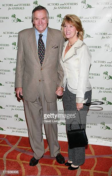 TV host Peter Marshall and wife Laurie Marshall attend Actors Others for Animals 40th anniversary fundraising luncheon at the Universal City Hilton...