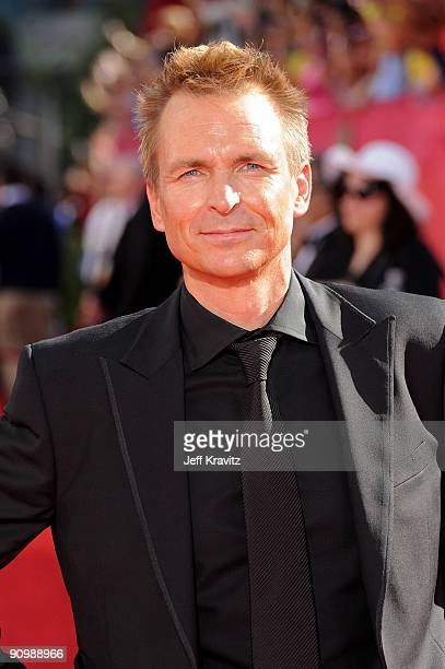 Host Phil Keoghan arrives at the 61st Primetime Emmy Awards held at the Nokia Theatre on September 20 2009 in Los Angeles California