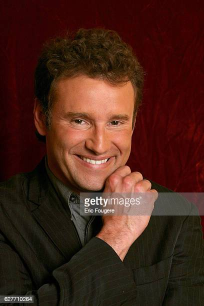 TV host Pierre Sled is one of the guests invited to attend the 'Piques et Polémiques' talk show hosted by Paul Wermus