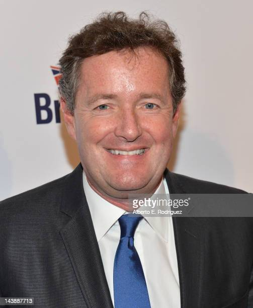TV host Piers Morgan arrives to BritWeek 2012's 'Evening with Piers Morgan' on May 4 2012 in Beverly Hills California
