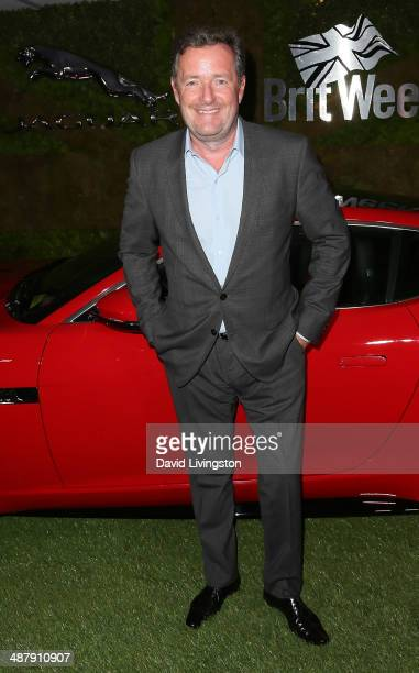 TV host Piers Morgan attends A Villainous Affair presented by Jaguar North America and BritWeek at the London West Hollywood on May 2 2014 in West...