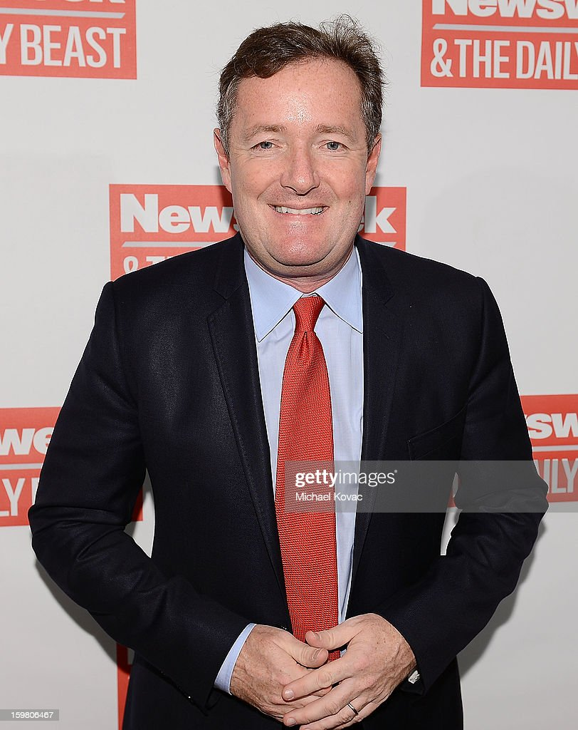 TV host <a gi-track='captionPersonalityLinkClicked' href=/galleries/search?phrase=Piers+Morgan&family=editorial&specificpeople=216509 ng-click='$event.stopPropagation()'>Piers Morgan</a> attends The Daily Beast Bi-Partisan Inauguration Brunch at Cafe Milano on January 20, 2013 in Washington, DC.