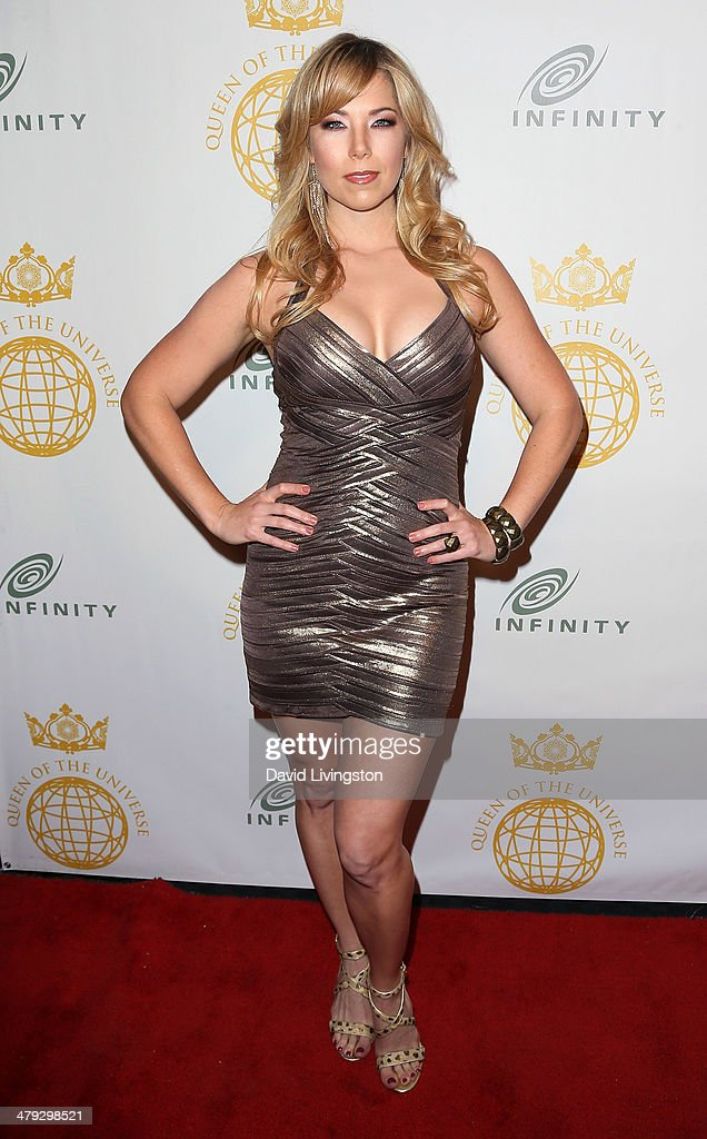 TV host Pili Montilla attends the Queen of the Universe International Beauty Pageant at the Saban Theatre on March 16, 2014 in Beverly Hills, California.