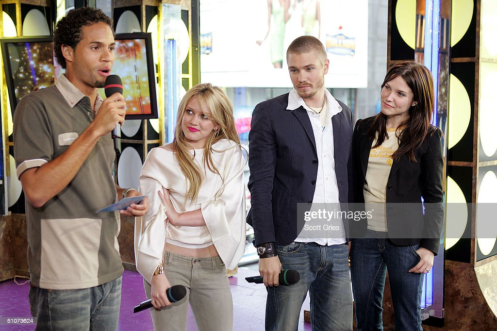 With Hilary Duff And Chad Michael Murray | Getty Images