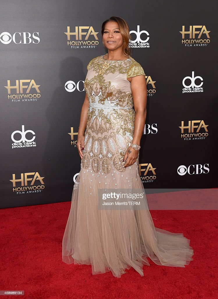 Host Queen Latifah attends the 18th Annual Hollywood Film Awards at The Palladium on November 14 2014 in Hollywood California