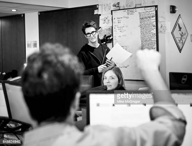 TV host Rachel Maddow is photographed for Variety on January 6 2017 in New York City PUBLISHED IMAGE ON EMBARGO UNTIL APRIL 17 2017