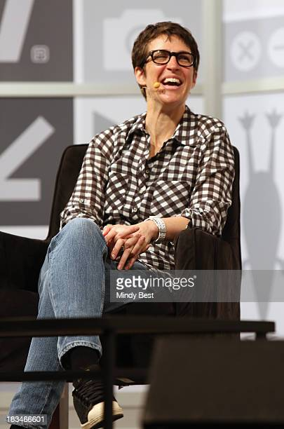 MSNBC host Rachel Maddow speaks onstage at A Conversation With MSNBC's Rachel Maddow during the 2013 SXSW Music Film Interactive Festival at Austin...