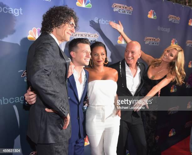 Host/ radio personality Howard Stern season 9 finale winner magician Mat Franco host/singer Melanie Brown aka Mel B host/TV personality Howie Mandel...