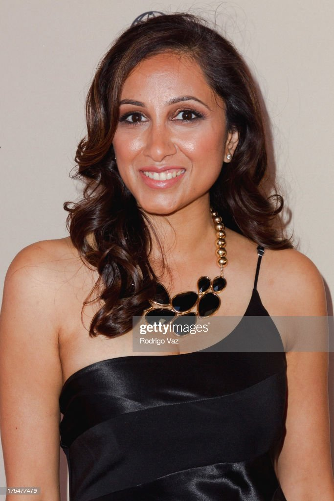 TV host Rasha Goel arrives at the Academy of Television Arts & Sciences 65th Los Angeles Area Emmy Awards at Leonard H. Goldenson Theatre on August 3, 2013 in North Hollywood, California.